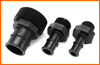 Male pipe thread to hose barb adaptors