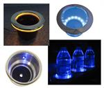 lighted cup holders