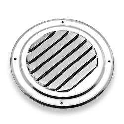 Flush Stainless Steel 5 Quot Vent Grill With Screen