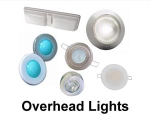LED overhead boat lights
