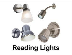 Replacement reading lights for your boat.