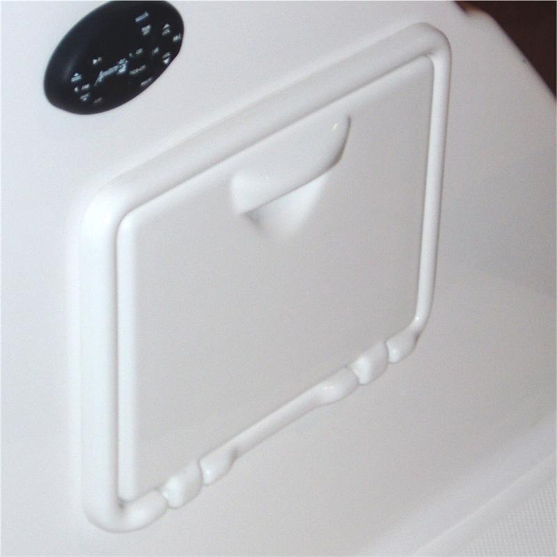 Stowaway Ultimate Hot Cold Transom Shower