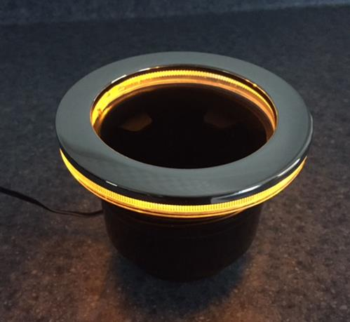 Amber Led Lighted Drink Holder