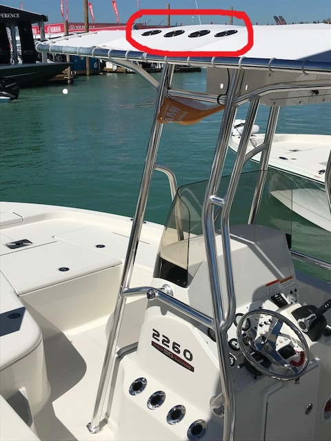 Boat T Top Kit Fishing Rod Holders For Boat