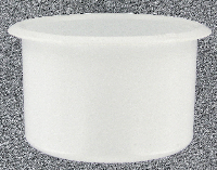 extra large white plastic drink holder