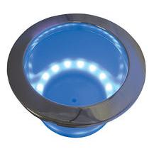 blue led lighted drink holder