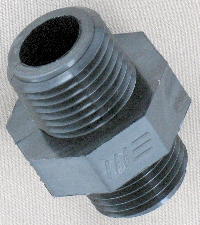 male pipe thread to male pipe thread adapter