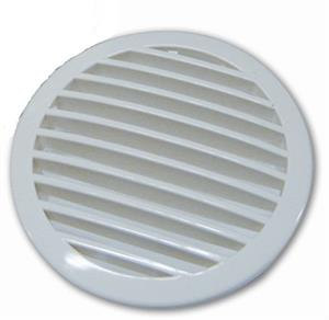 white blower vent grill