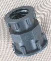 Female thread to female thread adapter