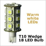 wedge base led replacement bulb